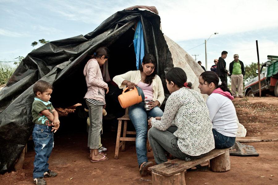Expulsión Paraguay La soja mata. Foto: Pablo Tosco / Oxfam