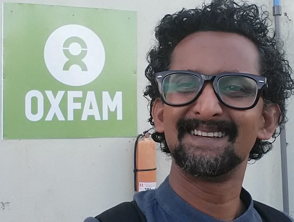 Naser Shawkat Haider from Pakistan, a Programme Manager in South Sudan. Photo credit: Oxfam