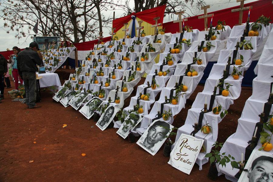 Muerte Paraguay La soja mata. Foto: Laura Hurtado / Oxfam