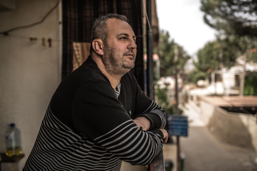 Ayman and his wife Susan fled Syria with their 3 children after violence broke out in their hometown of Zabadani 6 years ago.