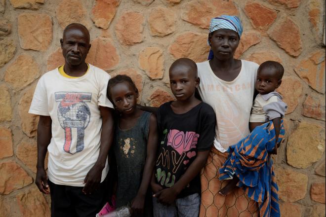 Samuel Samson, a bean farmer, and his family were at church when an attack took place.