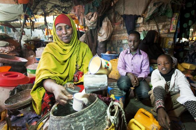 Market in Hargeisa, Somaliland. Photo credit: Petterik Wiggers.