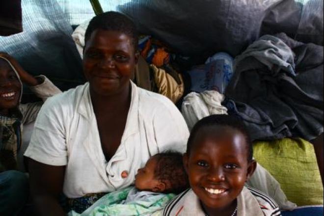 Tereza et ses deux enfants