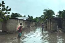 Intense rains cause floods at the town of Ouanaminthe, Haiti. Our teams are assessing the needs of the most vulnerable people in the hardest-hit areas.