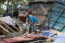 Irma left a trail of devastation in the Dominican Republic. More than 24.000 people were evacuated and more than 2.000 houses were damaged. Photo: Fran Afonso/Oxfam