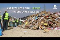 Recycling project in Zaatari Camp, Jordan