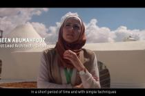 Superadobe houses : a dignified future for refugees in Jordan