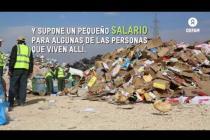 Los niños y niñas de Zaatari se divierten reciclando