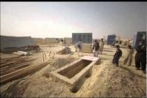Building a latrine in timelapse (camp in Sindh, Pakistan)
