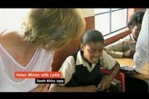 Lydia tells Helen Mirren her Story