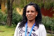 Asgedech Wolde Tensay won the 2015 Female Food Heroes award in Ethiopia for her exemplary efforts to increase productivity in her farm by using new technologies and linking up with other villages.