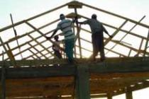 Building a house, Somalia. Photo: WASDA