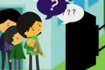 Extrait de l'animation vidéo d'Oxfam sur l'accaparement des terres