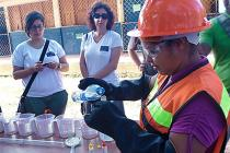 Los barrios de la Costa Caribe Norte de Nicaragua están preparados ante una situación que ponga en peligro el acceso al agua.