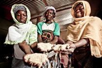 Women farmers from Burkina Faso. Photo: Pablo Tosco/Oxfam