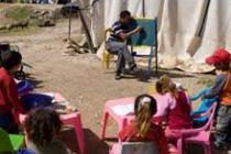 Children attend class in the Jordan Valley. Photo: Simon Rawles/Oxfam