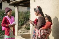 Ratni Rana Magar, a female community leader Nepal