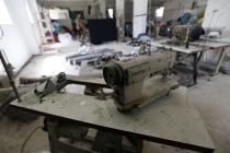 The Houso Sewing Factory in Gaza now employs 60 workers to produce school uniforms for local children. Photo: Oxfam