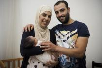 Mohammed, Safa and their daughter Rivan now live in Italy, where they were allowed to settle down thanks to the 'Humanitarian corridors' program.