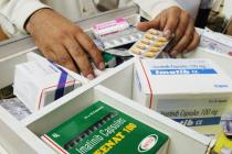 Medecines produced by generic pharmaceutical companies to treat blood cancer in India. Photo: Rajendra Shaw/Oxfam