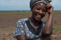 Neem Mibimba, 28. President of the Women's Forum.DRC