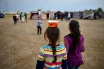 The number of unaccompanied minors in camps has increased substantially.