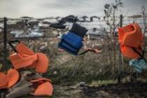 Chalecos salvavidas en un vertedero de la isla de Lesbos, en Grecia. Autor: Pablo Tosco/Oxfam