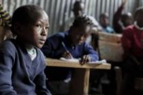 Rachel Oichoe, 9, attends class at Jaombi Foundation School, Kenya.