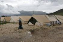 A refugee woman in the Katsikas Camp in the Epirus Region of Northwest Greece.Photo: Aubrey Wade/Oxfam