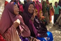 Somali women talking