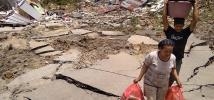 Plus de 300 000 personnes seraient actuellement sans abri après le séisme qui a frappé l'île centrale de Sulawesi, en Indonésie.