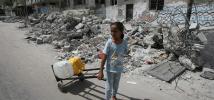 La crisis en Gaza ha afectado enormemente a la población civil.