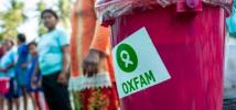 An Oxfam hygiene kit at a distribution outside of Palu, Sulawesi, Indonesia. Photo: Hariandi Hafid/Oxfam