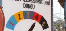 Security risk is high in Dungu, DR Congo. Photo: Oistein Thorsen/Oxfam