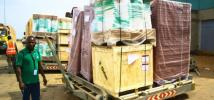 7 tons of humanitarian aid arrives in South Sudan