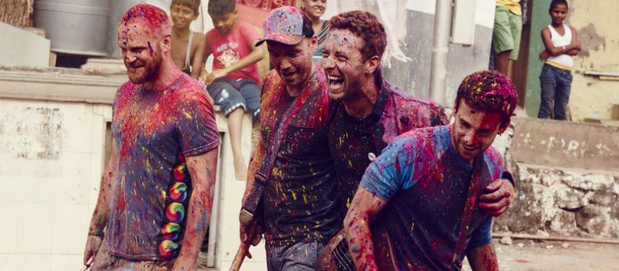 Coldplay dedicate a song from their Glastonbury set featured on the album. Photo: Julia Kennedy