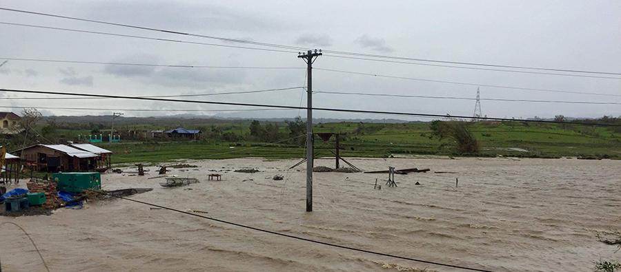 Destruction from the municipality of Iguig, Cagayan on September 15 2018. Photo by April Bulanadi - Oxfam