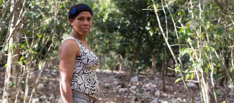 dominicana rural women climate change
