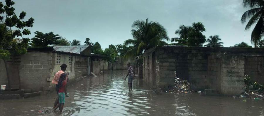 Las intensas lluvias han provocado inundaciones en la ciudad de Ouanaminthe (Haití). Nuestros equipos están evaluando las necesidades de las personas en situación de mayor vulnerabilidad en las áreas más afectadas.