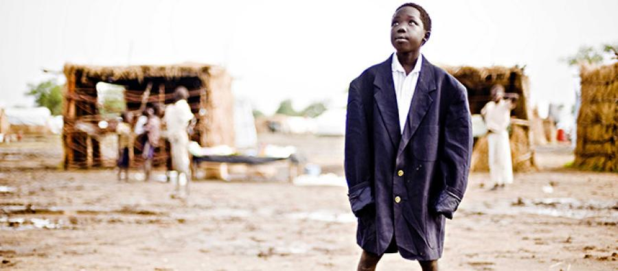 Amir Nasser, 12 ans, camp de réfugiés de Jamam, Sud-Soudan. Photo: John Ferguson