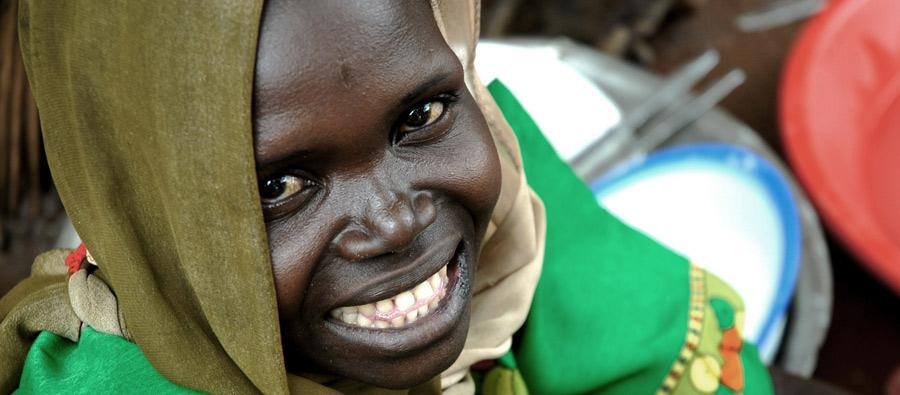 South Sudanese girl. Photo: Pablo Tosco/Oxfam