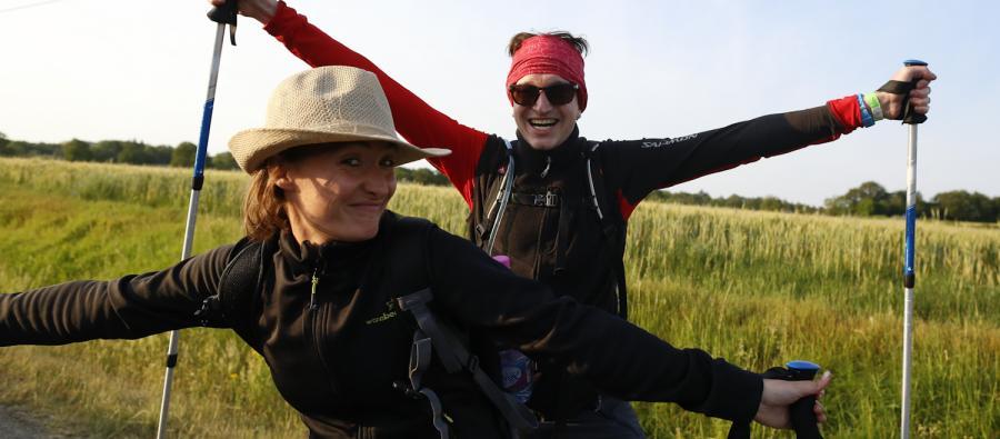 Trailwalker Francia 2015 - Sábado por la mañana. Fotografía: Laurent Carré / Oxfam