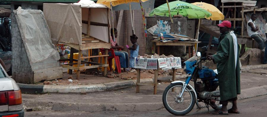Nigeria is not a poor country yet millions are living in hunger. Photo: Mies van der Putte/Oxfam