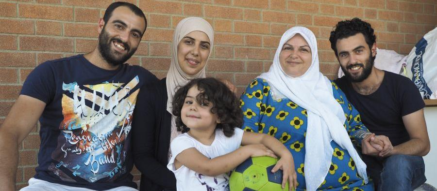 Thanks to the 'Humanitarian corridors' program wich Oxfam is part of, the Al Jarrah family now lives safely in Italy. Syria will always be their home, but here they have found a new hope for their future.