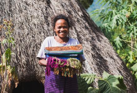 woman of Timor Leste