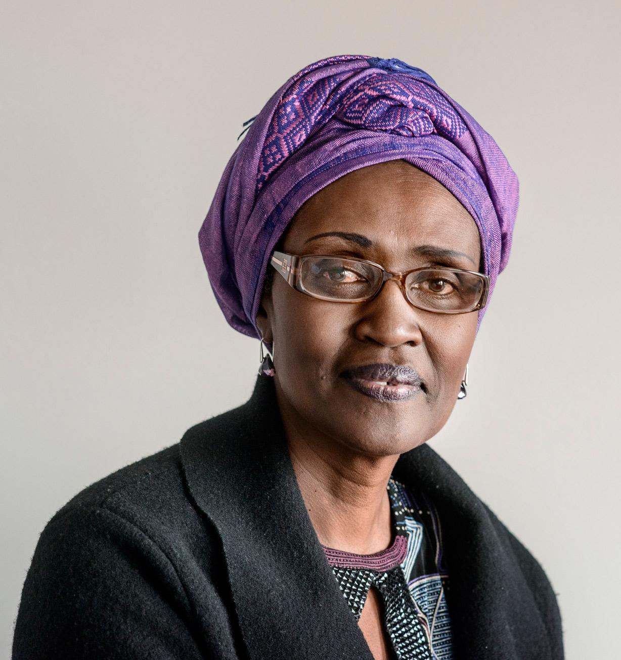 Oxfam International Executive Director, Winnie Byanyima